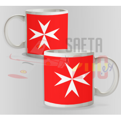 Taza Orden de Malta