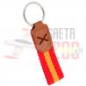 Llavero bandera de España - Cruz de Borgoña