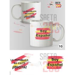 Taza La República no existe idiota - Soy español