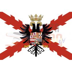 Bandera Tercios de España homenaje a su creador Carlos I